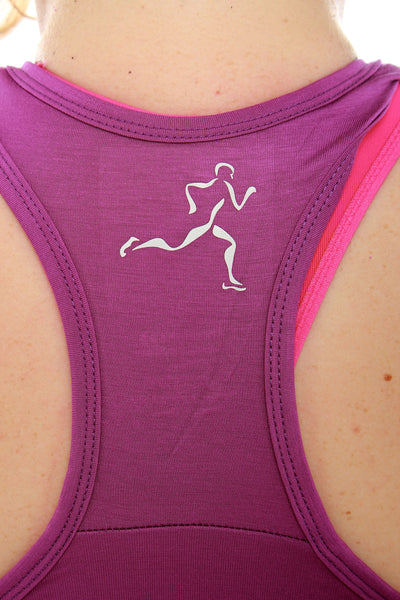 Luscious Bamboo Yoga Top - Navy