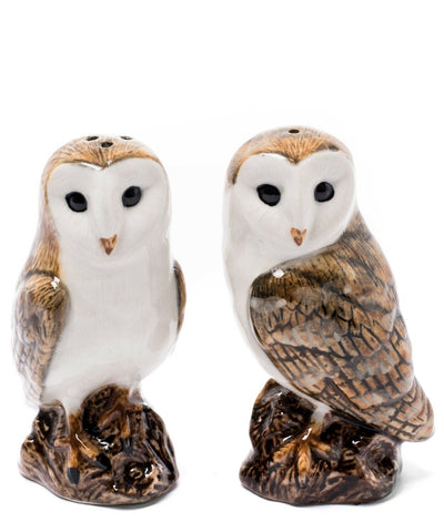 Quail Ceramics: Salt & Pepper Pots: Barn Owls