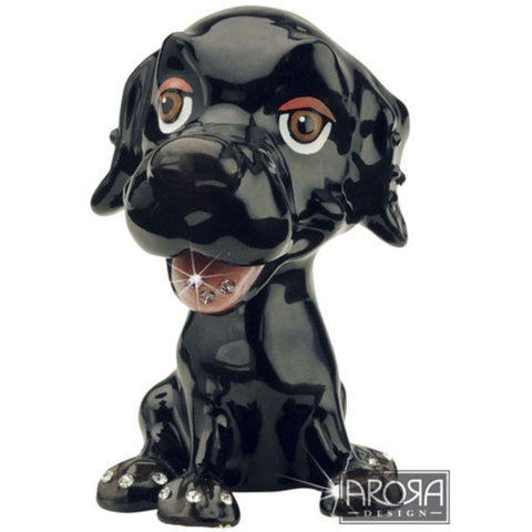 Arora Design Little Paws Black Labrador Trinket Box