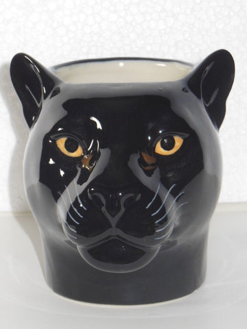 Quail Ceramics: Pencil Pot: Black Panther