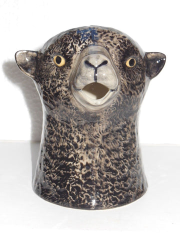 Quail Ceramics: Jug: Black Sheep