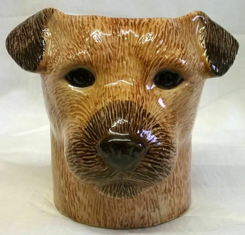Quail Ceramics: Pencil Pot: Border Terrier