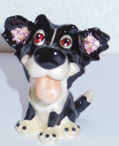 Arora Design Border Collie Trinket Box