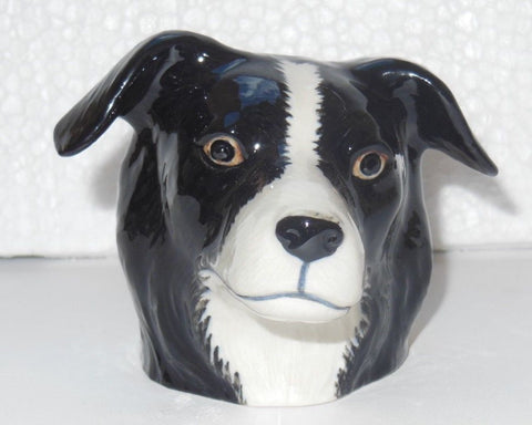 Border Collie face Egg Cup from Quail Ceramics