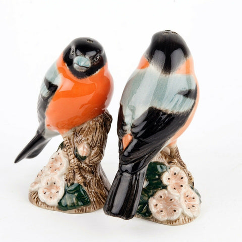 Quail Ceramics: Salt & Pepper Pots: Bull Finch