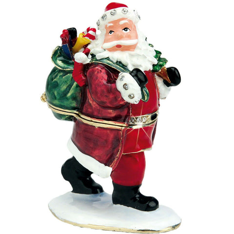 CRAYCOMBE TRINKETS - FATHER CHRISTMAS TRINKET BOX