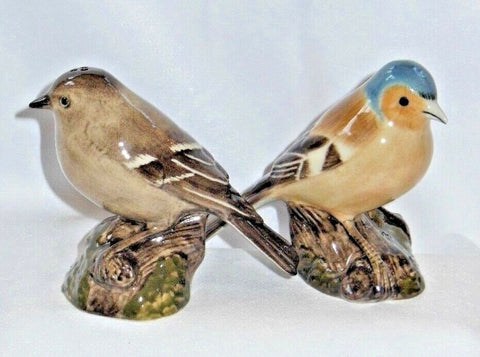 Quail Ceramics: Salt & Pepper Pots: Chaffinch