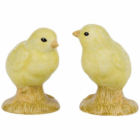 Quail Ceramics: Salt & Pepper Pots: Chickens