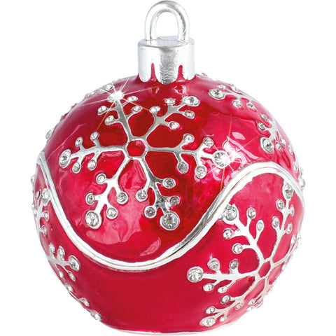 Arora Design Craycombe Christmas Bauble Trinket Box