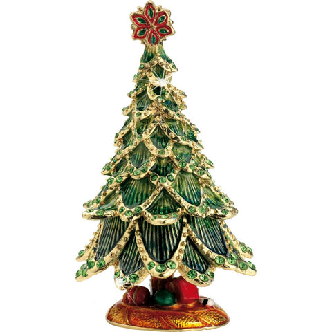 Arora Design Craycombe Christmas Tree Trinket Box