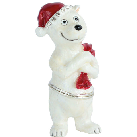 Arora Design:Trinket Box: Craycombe Trinket - Polar Bear