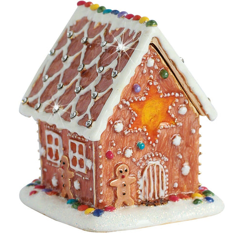 Arora Design Craycombe Trinkets Trinket Box Gingerbread House
