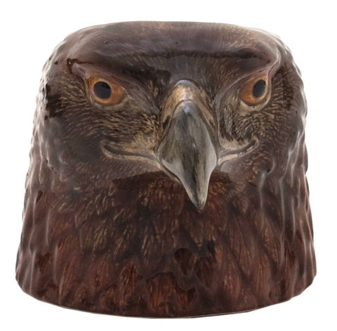Eagle Face Egg Cup from Quail Ceramics