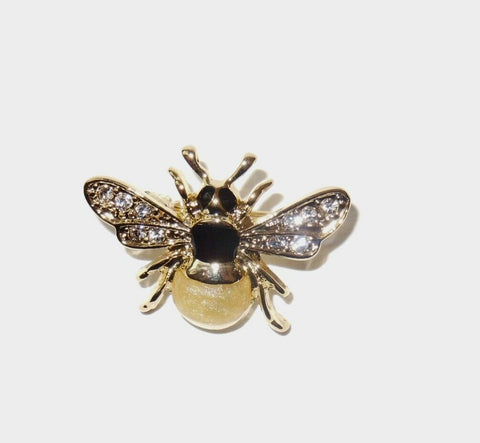 Rodney Holman: Brooch: Enamelled Bee