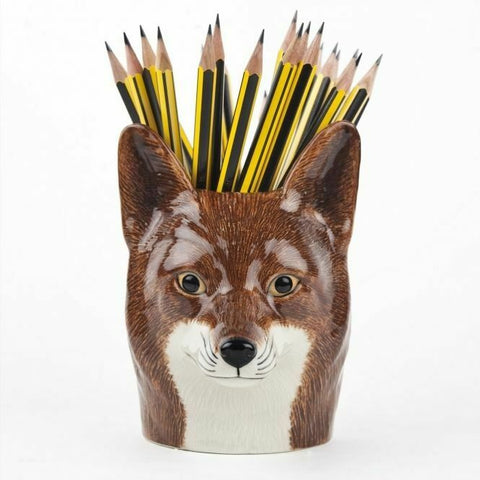 Quail Ceramics: Pencil Pot: Fox