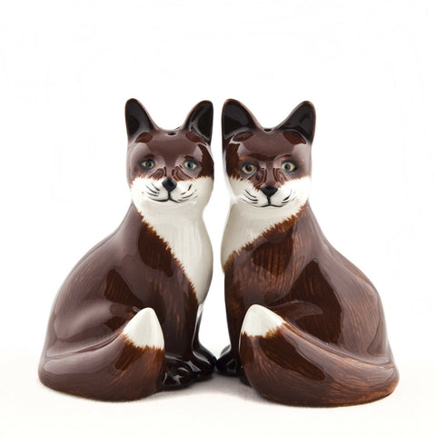Quail Ceramics: Salt & Pepper Pot: Fox