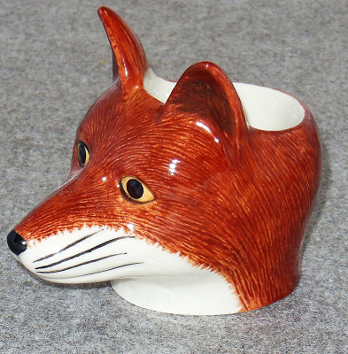Quail Ceramics - Fox Face Egg Cup