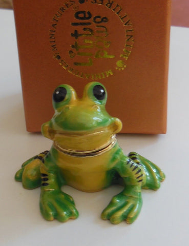 "Arora Design – ""Frog Trinket Box"""
