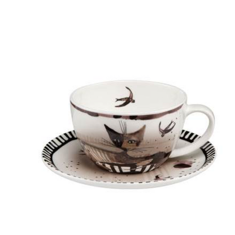 Rosina Wachtmeister  Cup & Saucer Elsa