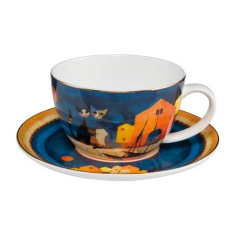 Rosina Wachtmeister Cup + Saucer - I Colori del tramonto