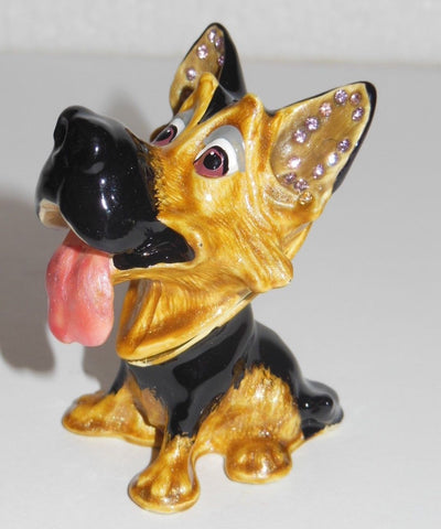 "Arora Design – ""German Shepherd Trinket Box"""
