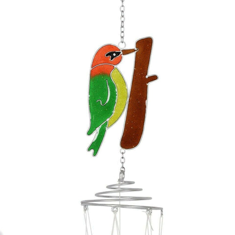 Garden Bird: Windchime: Green Woodpecker