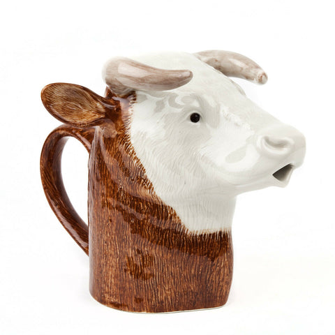 Quail Ceramics: Jug: Hereford Bull