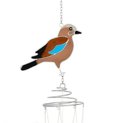 Garden Bird: Windchime: Jay