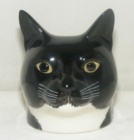 Julius a Cat Face Egg Cup from Quail Ceramics