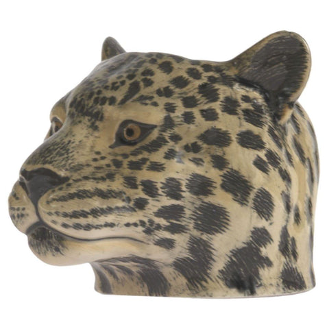 Leopard Face Egg Cup from Quail Ceramics