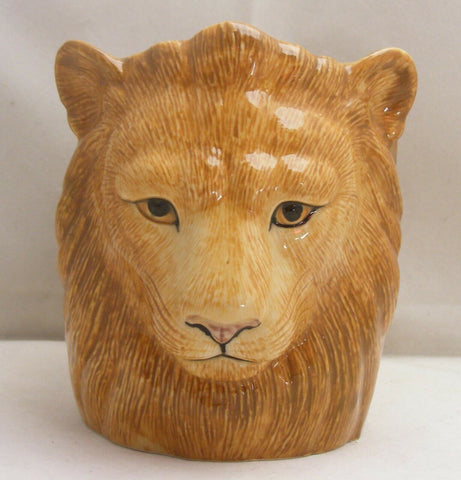 Quail Ceramic: Pencil Pot: Lion