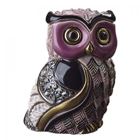 De Rosa: Rinconada Figurine: Long Eared Owl