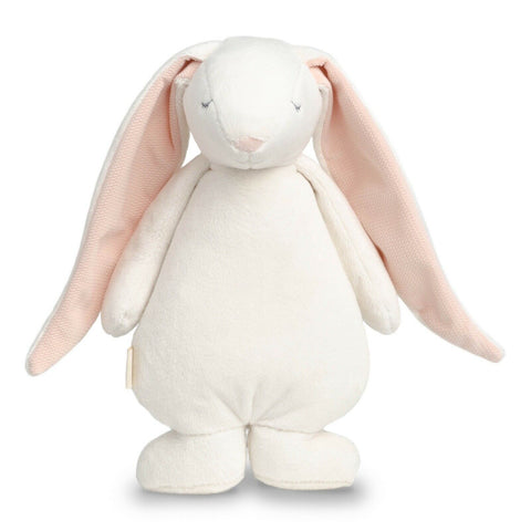 "Moonie ""The Humming Friend"" Rabbit Plush Toy - Powder"