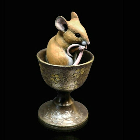 RICHARD COOPER STUDIO - MOUSE IN EGGCUP