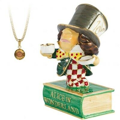 Arora Design:Trinket Box: Hidden Treasures: Alice In Wonderland: Mad Hatter