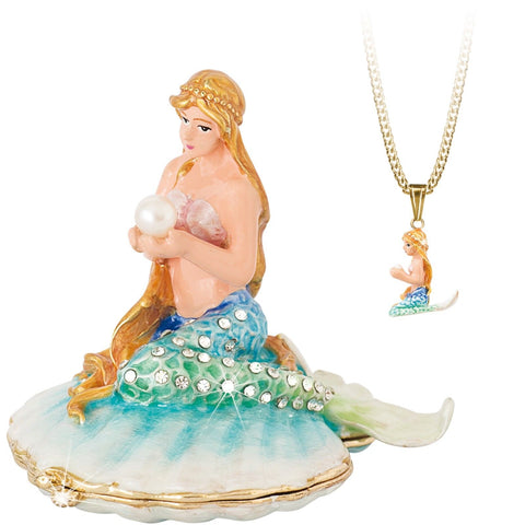 Arora Design Trinket Box Hidden Secrets Mermaid