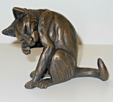 ORIELE BRONZE - CAT PURRING