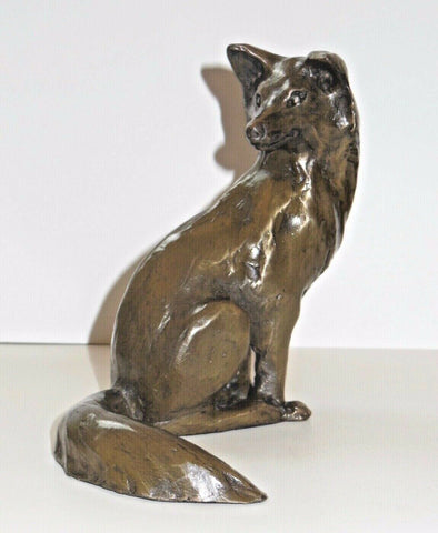 ORIELE BRONZE - FOX LOOKING OVER SHOULDER