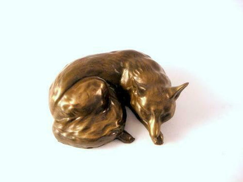 ORIELE BRONZE - SMALL FOX SLEEPING