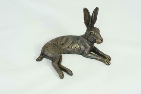 ORIELE BRONZE - Small Hare lying