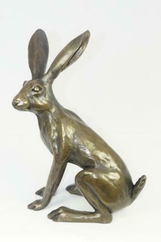 ORIELE BRONZE - TINY SITTING HARE NO 2