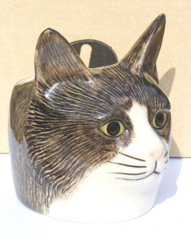 Oliver Cat Face Egg Cup from Quail Ceramics