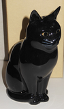 Quail Ceramics - Lucky the black cat money box