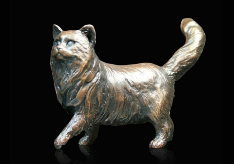 Richard Cooper Bronze – Small Cat Standing (926)