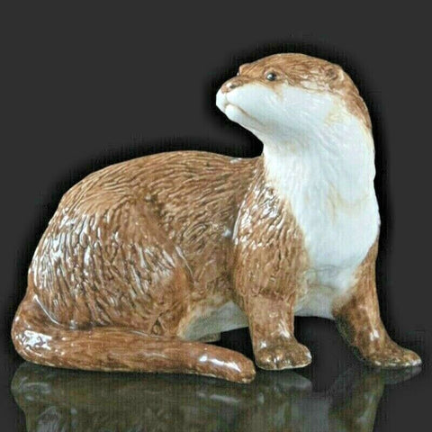 RICHARD COOPER STUDIO - BONE CHINA - Otter