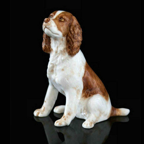 RICHARD COOPER STUDIO - BONE CHINA - SPRINGER SPANIEL