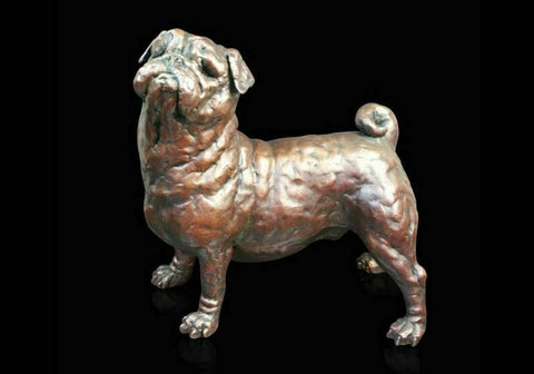 RICHARD COOPER STUDIO - BRONZE - PUG - LTD EDITION