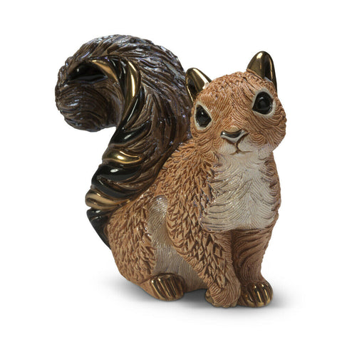 De Rosa: Rinconada Figurine: Red Squirrel