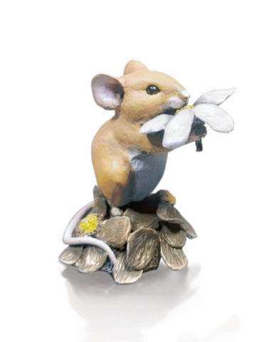 Richard Cooper Studio Mouse with Daisy