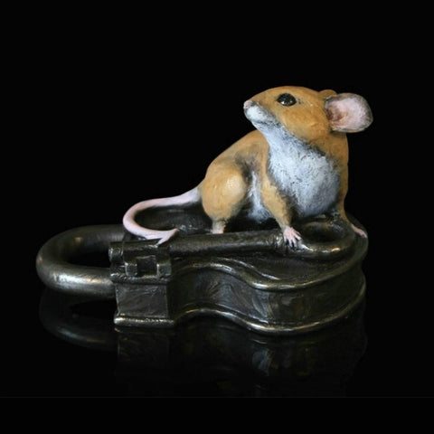 "Richard Cooper Studio – ""Mouse on Antique Lock"""